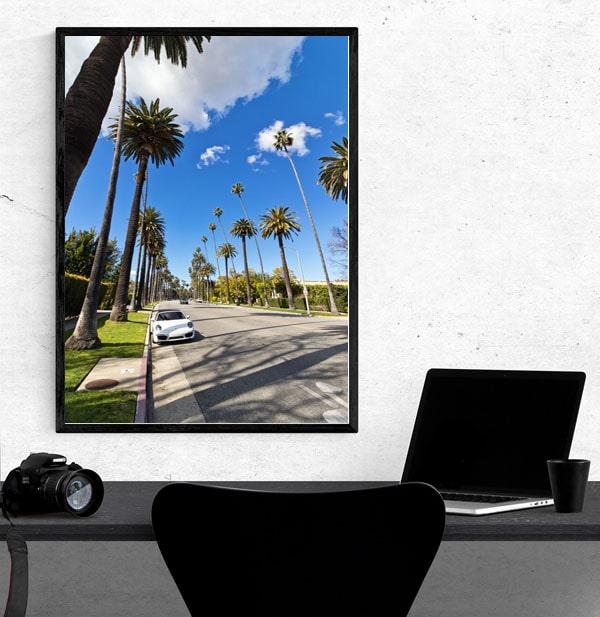 Beverly Hills - plakat premium
