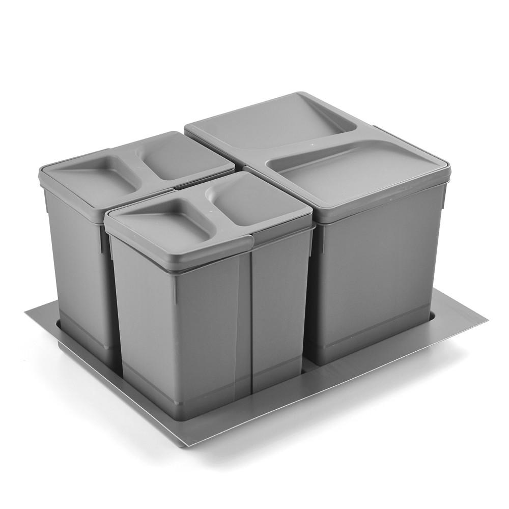 funkcjonalny kosz do segregacji śmieci